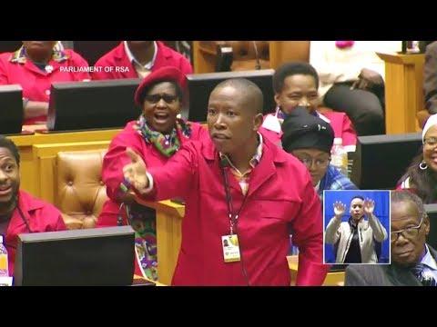 """""""Shut Up Julius Malema"""" - ANC MP In Parliament"""