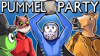 Video Pummel Party - REALLY FUN BOARD GAME! (Full Match) MOVIE TIME! MP3, 3GP, MP4, WEBM, AVI, FLV Desember 2018