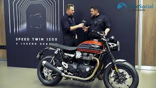 10. Triumph Speed Twin (2019) introduction and engine start!