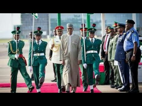 Nigerains Excites As President Buhari Arrives Nigeria (president Buhari Returns Back To Nigeria)