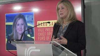 Inspiring women in the car industry - keynote speech - Ford COO Barb Samardzich | Autocar by Autocar