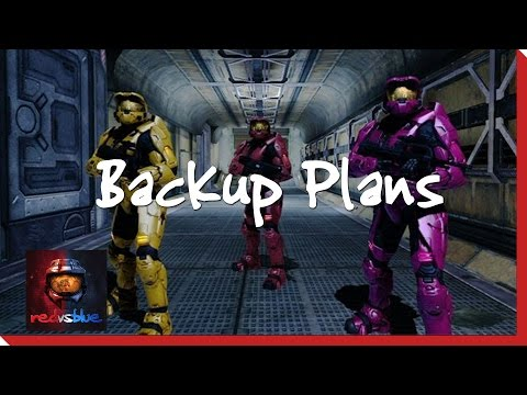Season 8, Chapter 9 - Backup Plans | Red vs. Blue