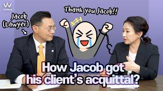 #4 How Jacob got his client's acquittal?
