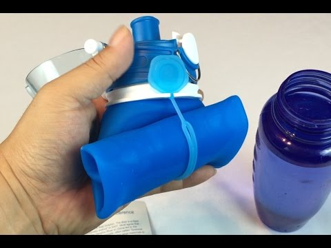Collapsible BPA Free 26oz Silicone Water Bottle by Baiji Bottle review