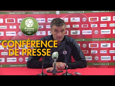 Conférence de presse Nîmes Olympique - FC Sochaux-Montbéliard ( 0-2 )  / 2017-18