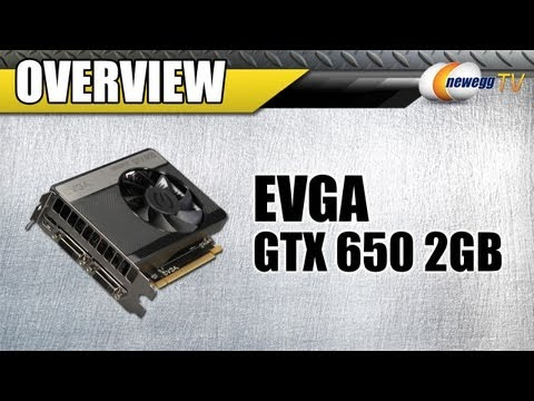 2GB - http://www.newegg.com | EVGA GTX 650 2GB: http://bit.ly/PAIwWT 14-130-830 NVIDIA has recently released two new additions to their 600-series graphics cards: ...