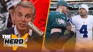 Chiefs are too reliant on Mahomes, Eagles vs Cowboys isn't as urgent as it seems | NFL | THE HERD by Colin Cowherd