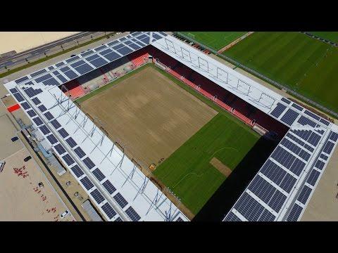 Ein neuer Rollrasen für den FC Ingolstadt