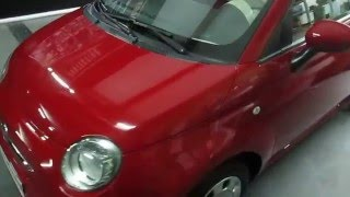 FIAT 500 : SCHOLL NEO PaintProtection By Viréo Car Wash Casablanca