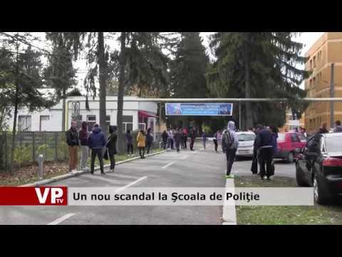 Un nou scandal la Şcoala de Poliţie