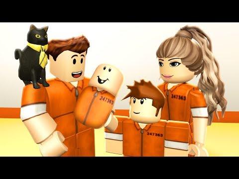 MY PRISON FAMILY - Roblox Jailbreak Roleplay (видео)