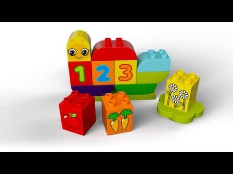 Конструктор Моя веселая гусеница - LEGO DUPLO - фото № 4