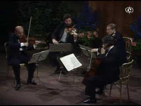 quartet - Exqusite playing by the Alban Berg Quartet in the Konzerthaus in Vienna. I'm soon to upload the last two movements and then Op. 18 No. 6 which Alban Berg pla...
