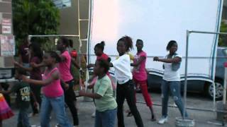 International Street Outreach Dance Class.