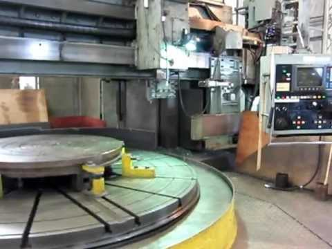 CNC Vertical Turret Lathe O M TMS-30/70 1984