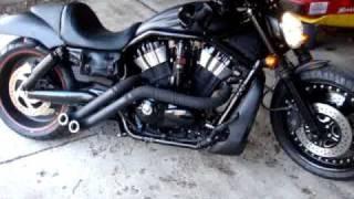 10. Exotic Chopper Loco Pipes 2008 Harley V Rod Night Rod Special