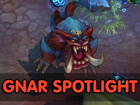 Lol - Full Gnar The Missing Link Champion Spotlight (League of Legends / LoL Abilities Guide) Abilities info: http://www.turretdive.net/gnar-the-missing-link/ SUBSCRIBE and join the League of Legends...