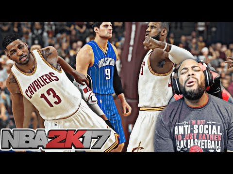 NBA 2K17 MyCAREER - LEBRON JAMES PUNCHES HIS TEAMMATE OUT OF FRUSTRATION! (PS4 GAMEPLAY EP 13)
