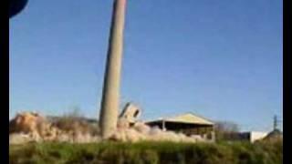Rychnov Nad Kneznou Czech Republic  city photos : Odstrel komina v Rychnove nad Kneznou - Chimney demolition