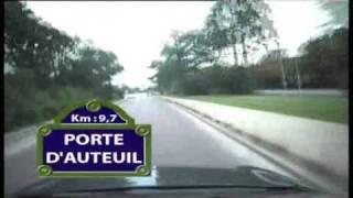 20km Paris parcours - YouTube