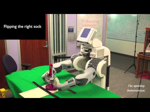 The way this robot does this menial task is hilarious.