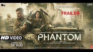 Nonton Phantom (2015) Official Trailer  Saif Ali Khan,Katrina Kaif,Rajesh Tailang Is Raw Agent Alok Film Subtitle Indonesia Streaming Movie Download