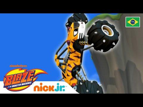 Força do vento 🌬 | Blaze and the Monster Machines