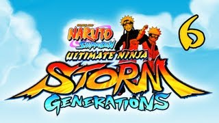 Naruto Shippuden Ultimate Ninja Storm Generations - Walkthrough Part 6 Kabuto