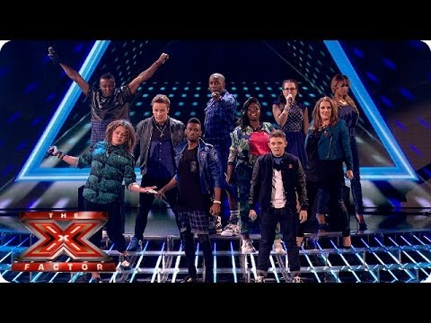 again - They were once 12, now they're eight -- here are our remaining finalists singing John Newman's Love Me Again Visit the official site: http://itv.com/xfactor ...