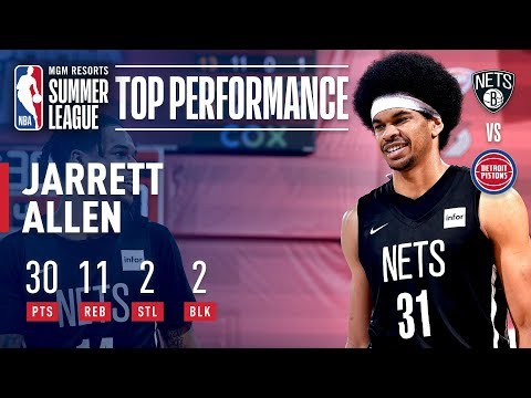 Video: Jarrett Allen Drops 30 Points in Quarterfinals Win | July 13, 2019