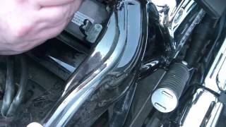 8. How To Install A Battery On A Honda Shadow Spirit Motorcycle