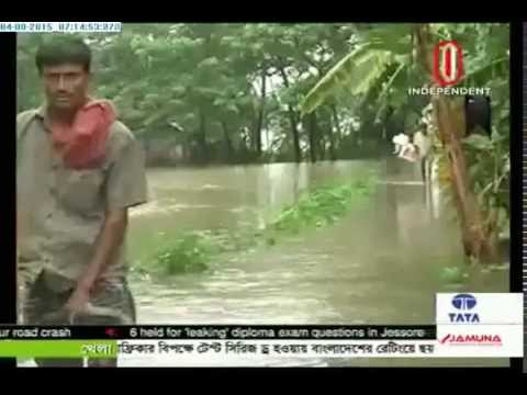 400,000 people marooned in Noakhali (04-08-2015)