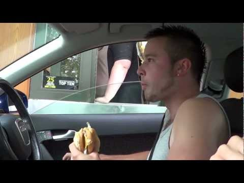 Eating in McDonald's Drive Thru! Funny Prank