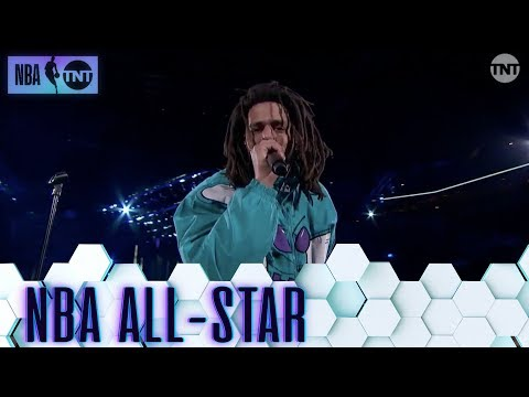 J. Cole Puts On a Show For the Home State  | All-Star 2019 Halftime Show