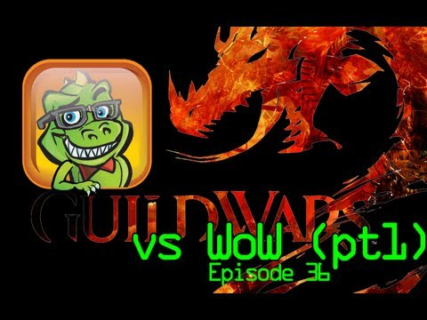 Guild Wars 2 vs wow - Website http://www.geekasaurus.net (to watch all 40+ episodes head over to blip.tv/thegeekasaurus) Part 1 of a 3 part series. AWWW HELL YA! I aint afraid. Su...
