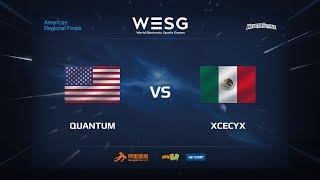 xcecyx vs Quantum, game 1