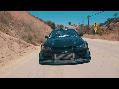Voltex Wide Body Mitsubishi Evo IX at Turnball Canyon [dreams]