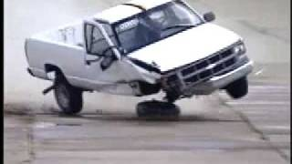Chevy Truck Crash Test Into Barrier! 7120746 YouTube-Mix