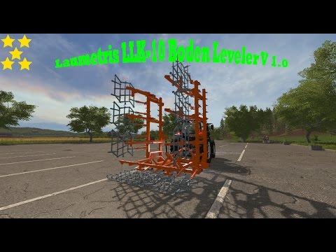 Laumetris LLK-10 Soil leveler v1