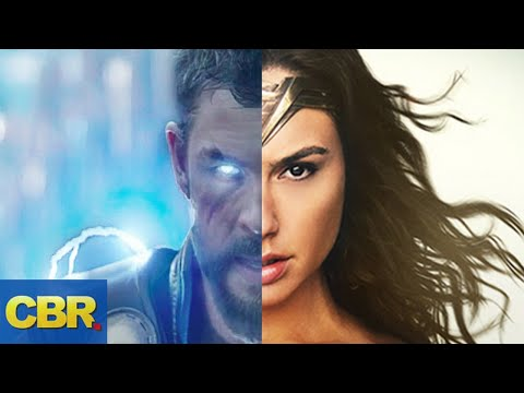 Wonder Woman VS Thor Battle