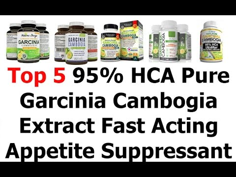 Top 5 95% HCA Pure Garcinia Cambogia Extract Review Or Weight Loss Products That Work Fast 2016 Vide