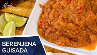 Berenjena Guisada Dominicana | Made To Order | Chef Zee Cooks