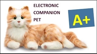 Download Lagu Companion Pet for Seniors and Others! - Hasbro Joy For All Cat Mp3