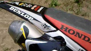 9. CRF150R Walkaround and Sound