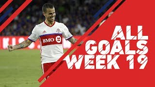 Take a look at every goal from the July 4th holiday MLS games. Subscribe to our channel for more soccer content: ...