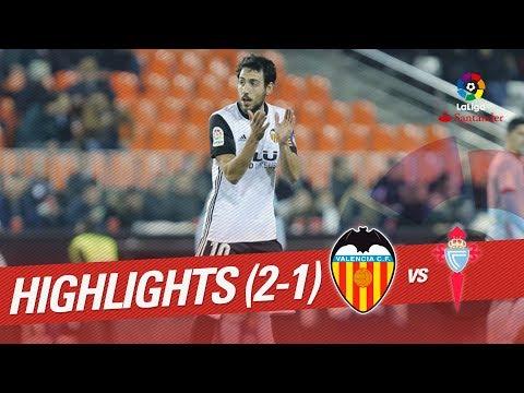 Resumen de Valencia CF vs RC Celta (2-1)