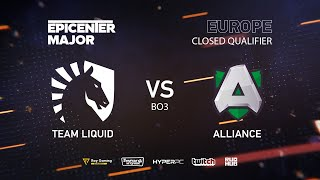 Team Liquid vs Alliance, EPICENTER Major 2019 EU Closed Quals , bo3, game 3 [Mila &Inmate]