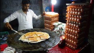 Video Bread Omelette Street Food | Egg Fry Omelette with Bread @ 20 rs Each | Hyderabad Street Food MP3, 3GP, MP4, WEBM, AVI, FLV Januari 2019