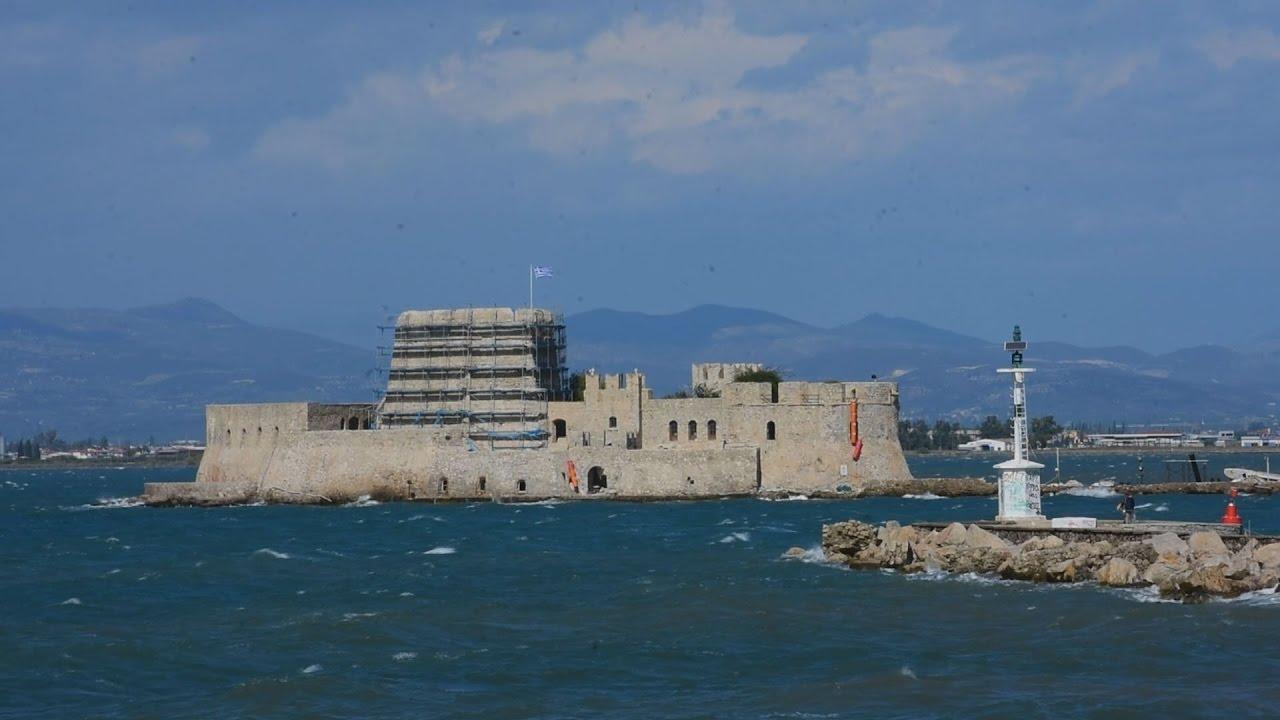 Θυελώδεις άνεμοι στο Ναύπλιο