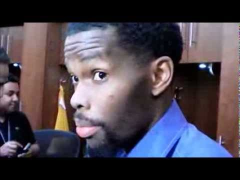 Aaron Brooks after Houston's 97-88 loss to Phoenix
